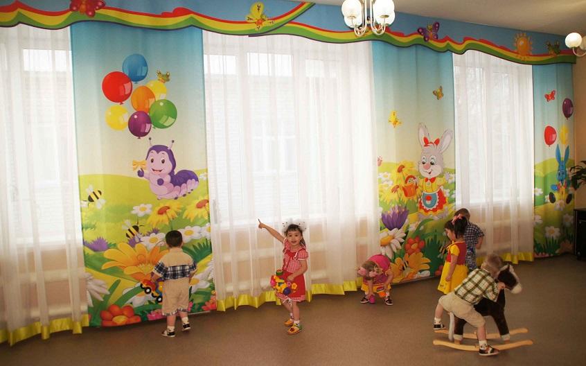 Зал для занятий в доме ребенка при ФКУ ИК-6, Нижний Тагил.