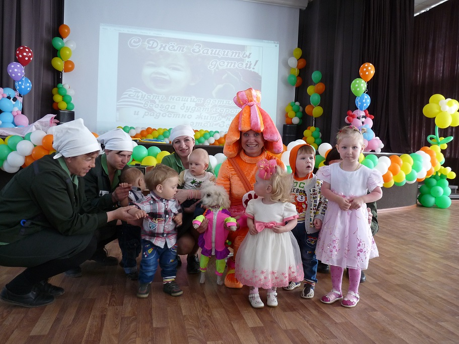 День ребенка в ФКУ ИК-22, Красноярск