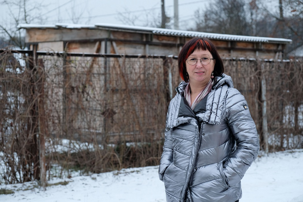 Влада Кучеренко – волонтер фонда «Протяни руку»