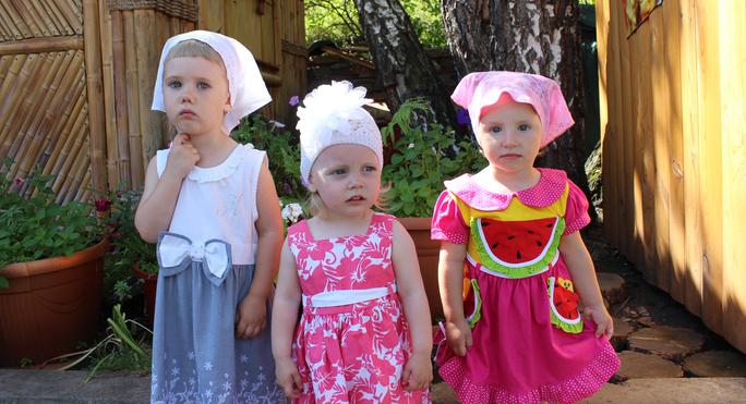 Наши маленькие подопечные из дома ребенка при ФКУ ИК-22, Красноярск.