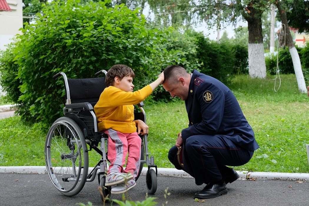 Савченко А.Н. и воспитаница дома-интерната