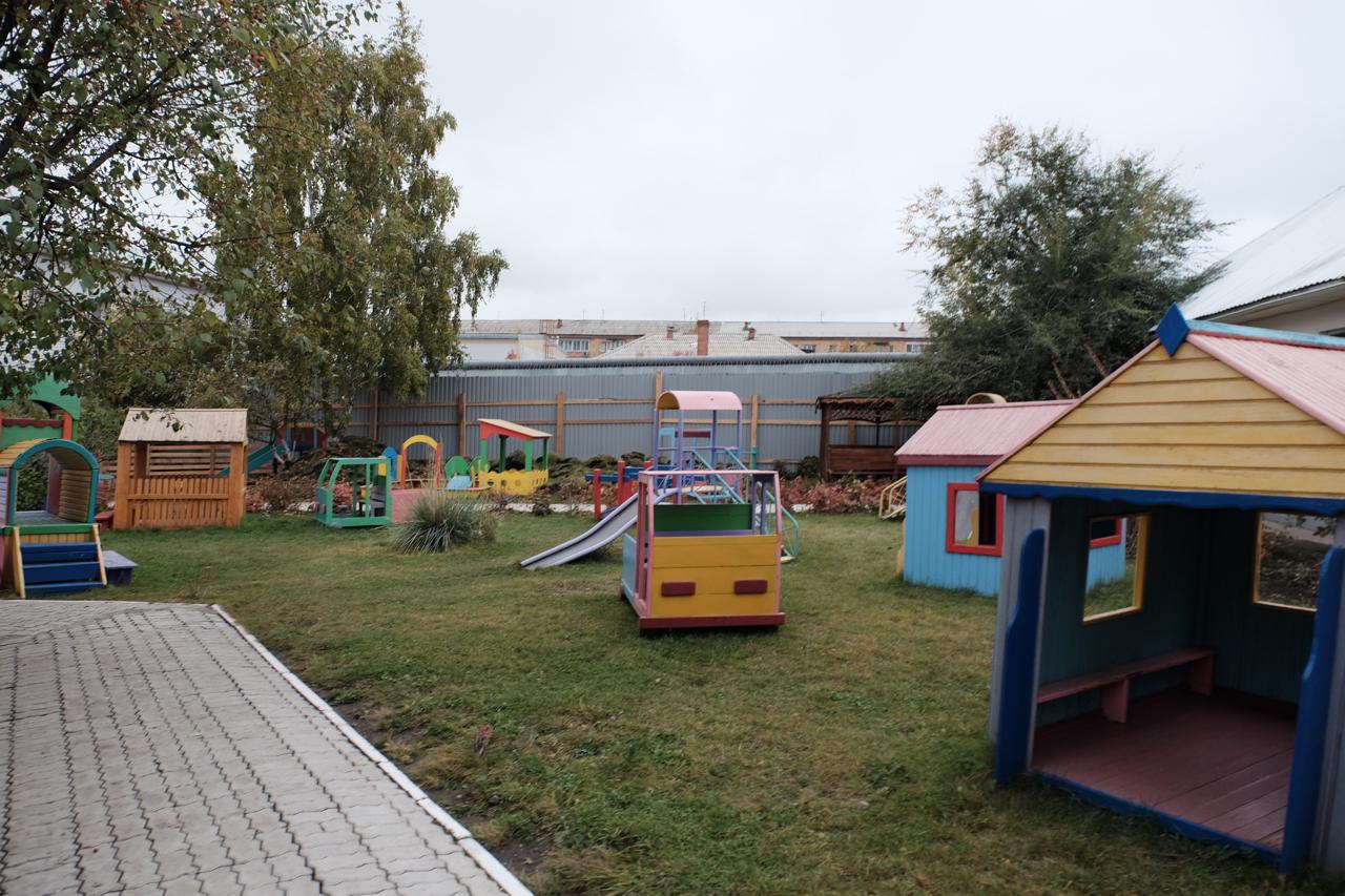 Территория Дома ребенка